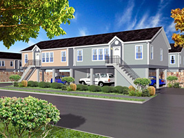 Clh commercial modular duplexes perfect for investment for Modular duplexes